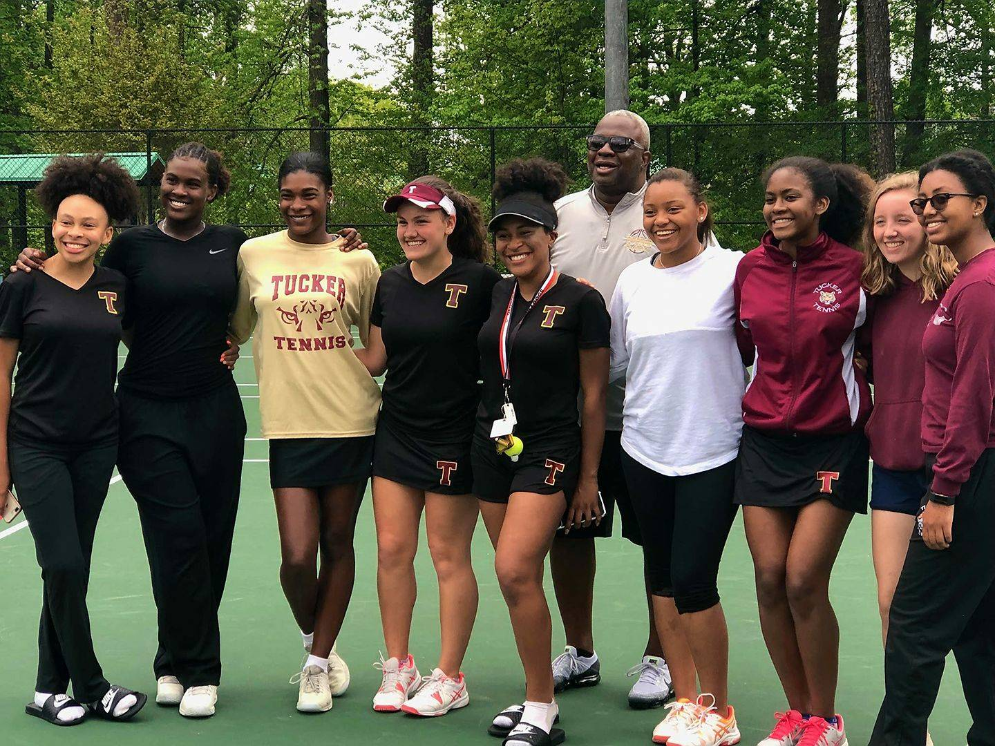 Lady Tennis Tigers