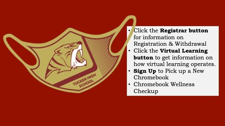 Registrar and Virtual Learning info